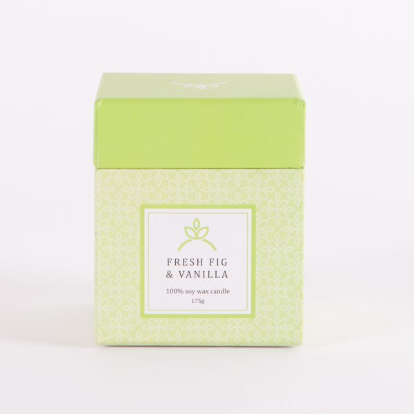 soy candles fresh fig and vanilla