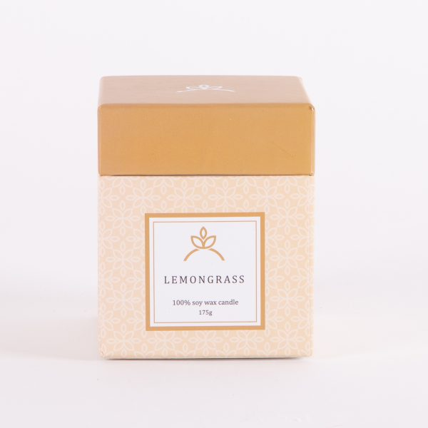 soy candles lemongrass